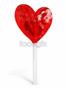 Link toHeart-shaped lollipops hd pictures
