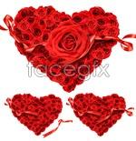 Link toHeart-shaped rose bushes psd
