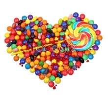 Link topictures wave candy sugar Heart-shaped
