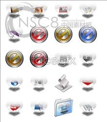 Link toHeart-shaped system replacement icons