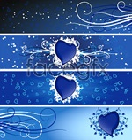 Link toHeart-shaped theme vector