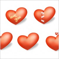 Link toHeart valentine day icons pack