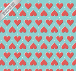 Link toHearts seamless background vector