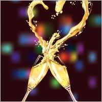 Link toHeartshaped vector 3 champagne
