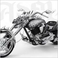Link toHeavy motor dragon vector materials