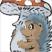 Link toHedgehog carrying mushroom