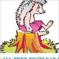 Link toHedgehog on stump