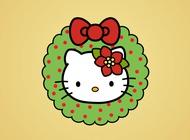 Link toHello kitty christmas vector free