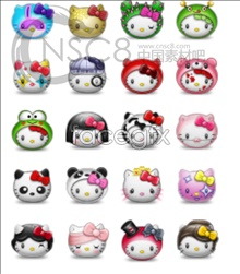 Link toHello kitty desktop icons