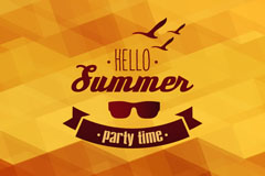 Link toHello summer background vector
