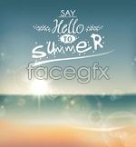 Link toHello summer vector
