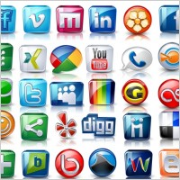 Link toHigh detail social icons icons pack