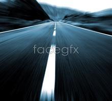 High speed highway psd