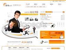 Link toHigh-tech e-commerce business web site templates psd