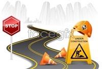 Link toHighway auto eps vector