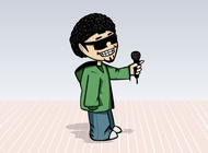 Link toHip hop cartoon vector free