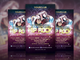 Link toHip rock flyer template