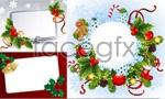Link toHoliday decorations box vector