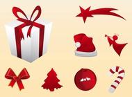 Link toHoliday season icons vector free
