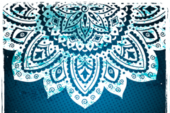 Link toHollow pattern background vector