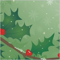Link toHolly tree vector material
