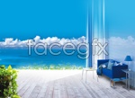 Link toHome and nature psd