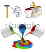 Link toHome improvement tools psd