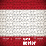 Honeycomb-shaped background vector