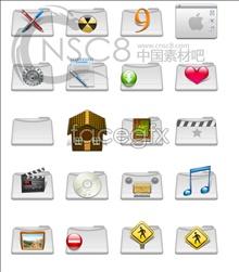 Link toHorizontal-type laminated folder icon
