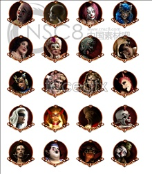 Link toHorror avatars desktop icons