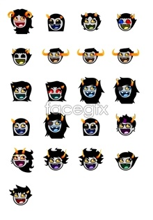 Link toHorror avatars emoticons