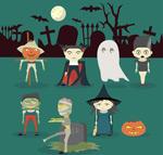 Link toHorror halloween character vector