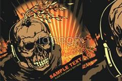 Link toHorror of skull, dj vector alternative