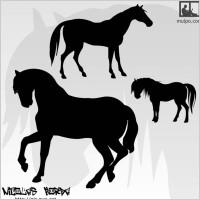 Link toHorses silhouettes