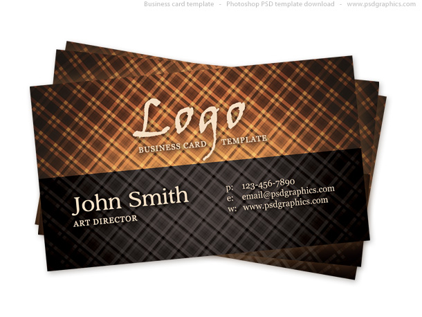 Link toHot vintage business card psd