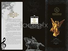 Link toHotel restaurant image brochure covers psd template