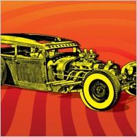 Link toHotrod car vector