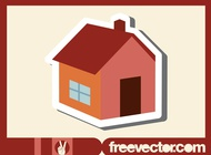 Link toHouse sticker vector free