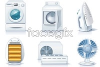 Link toHousehold electrical appliances vector free