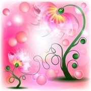 Link toHuge collection of beautiful flower vector graphics 06 free