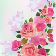 Link toHuge collection of beautiful flower vector graphics 09 free