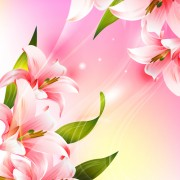 Link toHuge collection of beautiful flower vector graphics 17 free