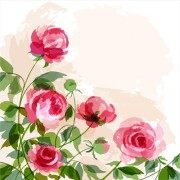 Link toHuge collection of beautiful flower vector graphics 19 free