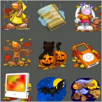 Link toI love autumn icons icons pack