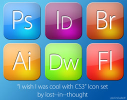 I wish i was cool cs3 icons