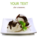 Link toIce cream and chocolate psd