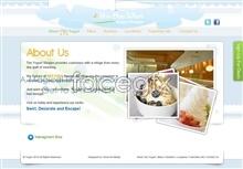 Link toIce cream dessert site psd