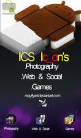 Link toIce cream sandwich folder icons