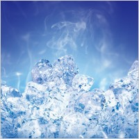 Ice force full of ice cubes psd layered 1