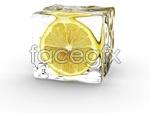 Link toIce lemon slices psd